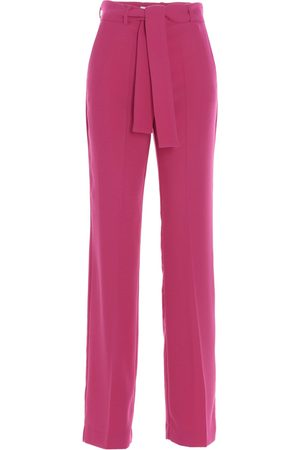 HEBE STUDIO WOMEN'S H204LVPNPRCRPY FUCHSIA OTHER MATERIALS PANTS