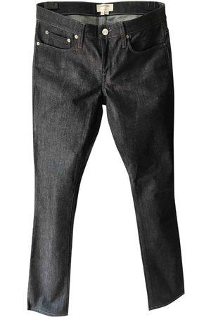 Helmut Lang Anthracite Denim - Jeans Jeans