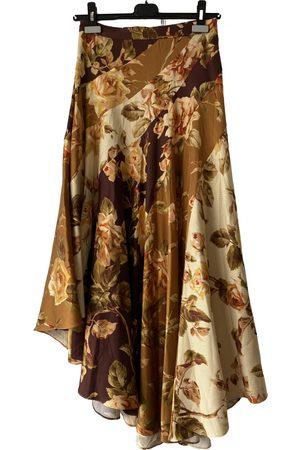 ZIMMERMANN Silk mid-length skirt
