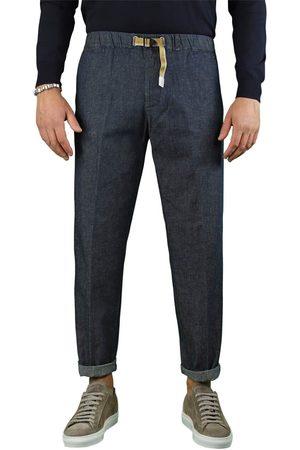 White Sand Men Jeans - MEN'S 21SU66341437 COTTON PANTS