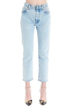 SSHEENA Women Jeans - WOMEN'S 20SSJEVYDS20002BLEACH LIGHT COTTON JEANS