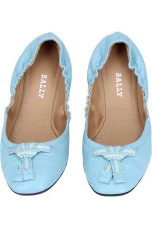 Bally Women Ballerinas - \N Leather Ballet flats for Women