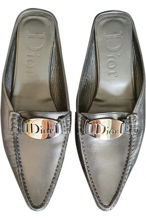 Dior VINTAGE \N Leather Mules & Clogs for Women