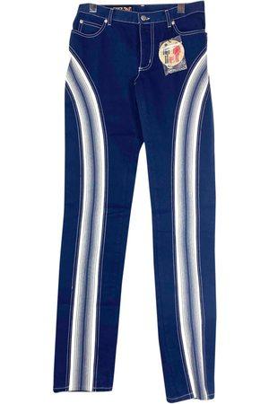 Jean Paul Gaultier Navy Cotton Jeans