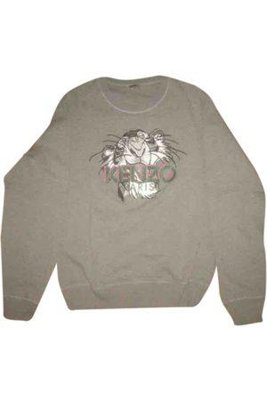 Kenzo Grey Cotton Knitwear & Sweatshirts