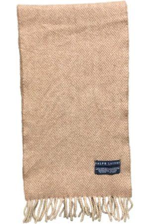 Ralph Lauren Khaki Wool Scarves