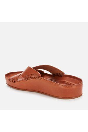 Kenzo Men's Opanka Leather Mule Sandals