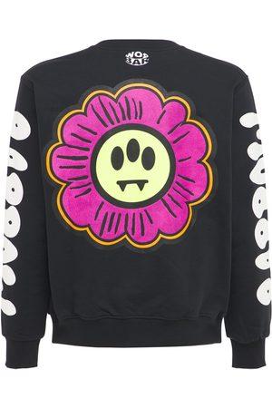 BARROW Cotton Flower Logo Printed Sweatshirt