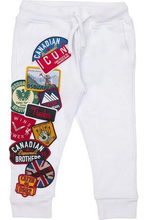 Dsquared2 Girls Sweatpants - Cotton Sweatpants W/ Patches