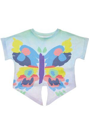 Stella McCartney Butterfly Print Organic Cotton T-shirt