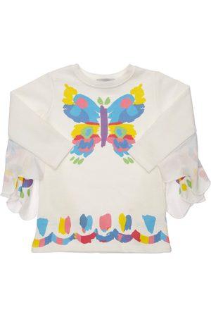 Stella McCartney Butterfly Organic Cotton Sweat Dress
