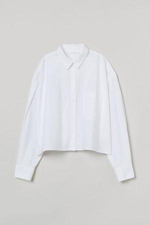 H&M Women Shirts - Boxy Cotton Shirt