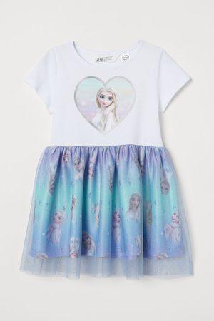 H&M Printed Tulle Dress
