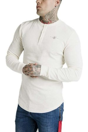 SikSilk Button Down L Ecru