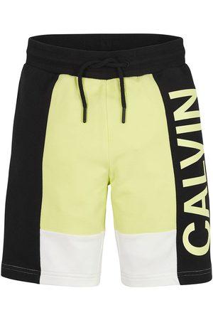 Calvin Klein Colour Block Logo Jogger 10 Years Lime