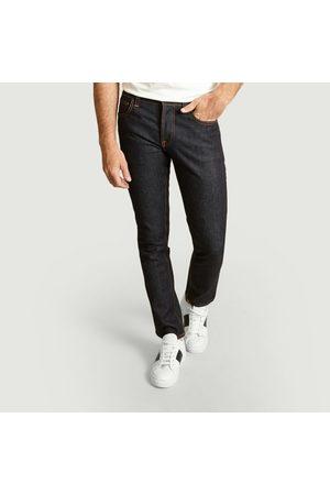 Nudie Jeans Grim Tim Slim Dry True Jeans Dry True Navy Jeans