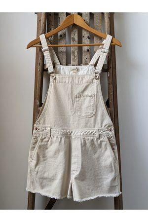 Bellerose Pachita Natural Denim Short Dungarees