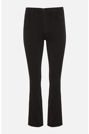 J Brand Franky High-Rise Crop Bootcut in