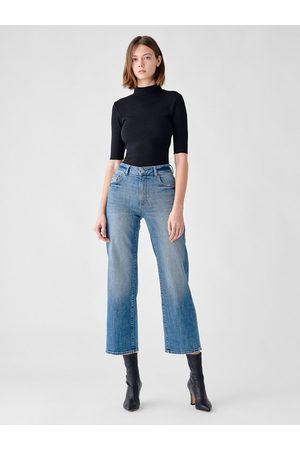 Dl 1961 Hepburn Wide Leg Jeans - Barlowe