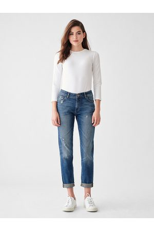 Dl Women Boyfriend Jeans - 1961 Riley Boyfriend Jeans - Adams