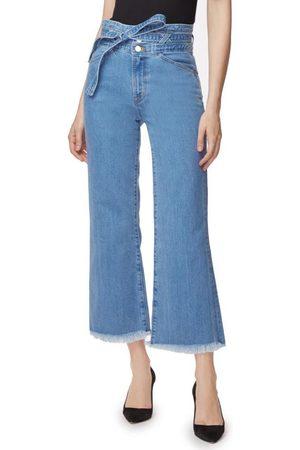 J Brand Sukey High-Rise Wide-Leg Crop