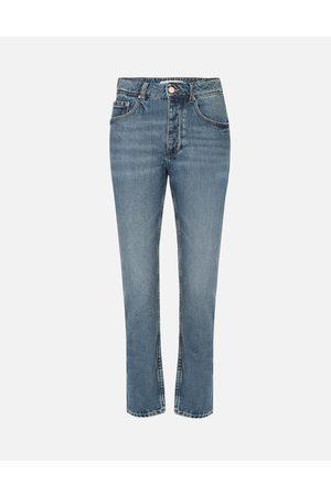 REIKO Women Jeans - Harlem Mom Jean - Mid Denim