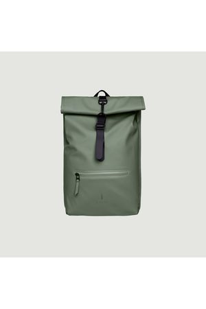 Rains Women Purses - Rolltop Backpack Olive