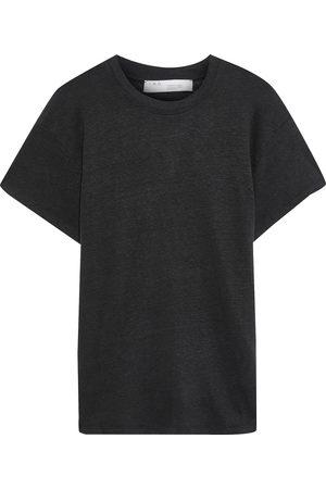 IRO Woman Hinton Slub Linen-jersey T-shirt Size XS