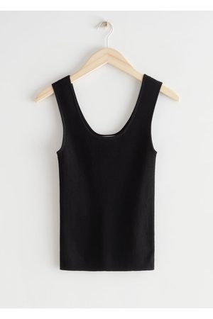 & OTHER STORIES Women Tank Tops - Fitted Tank Top