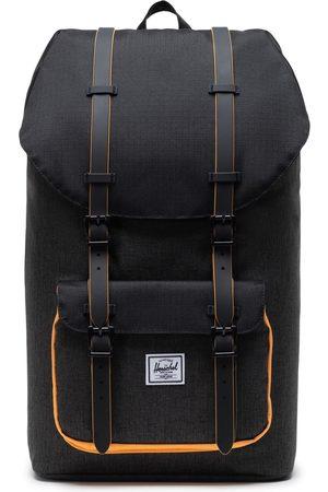 Herschel Little America Backpack - Crosshatch/ /Blazing Orange
