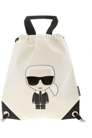 Karl Lagerfeld Women Purses - K/Ikonik Nylon Flat Backpack
