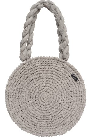 Grey Tulum Beach Bag