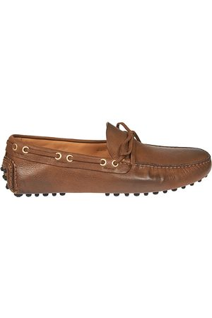 CAR SHOE MEN'S KUD0063AI0F0040 LEATHER LOAFERS