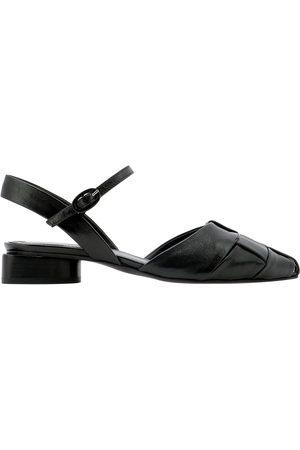HALMANERA Women Sandals - WOMEN'S CAROL14NERO OTHER MATERIALS SANDALS
