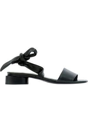 HALMANERA Women Sandals - WOMEN'S DALIA22NERO OTHER MATERIALS SANDALS