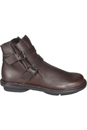 TRIPPEN WOMEN'S PREVENTWAWESPRESSO LEATHER ANKLE BOOTS