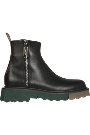 Off-White Men Boots - LEATHER BOOTS