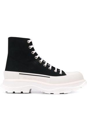 Alexander McQueen Men Ankle Boots - MEN'S 604254W4L321070 COTTON ANKLE BOOTS