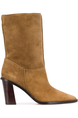 Kenzo K Line Shearling Ankle Boots