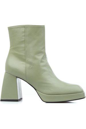 GIAMPAOLO VIOZZI Women Ankle Boots - WOMEN'S YA4002NAPPAEVA11ASPARAGO ANKLE BOOTS