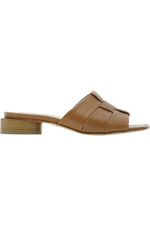HALMANERA Women Sandals - WOMEN'S DALIA21CARAMEL OTHER MATERIALS SANDALS