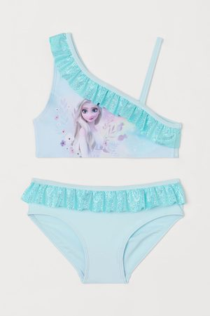 H&M Kids Bikinis - Printed Bikini with Ruffles