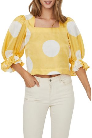 Vero Moda Women's Women's Polka Dot Top