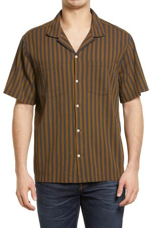Madewell Men's Easy Short Sleeve Button-Up Camp Shirt
