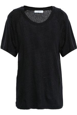 IRO Woman Milna Slub Linen-jersey T-shirt Size S