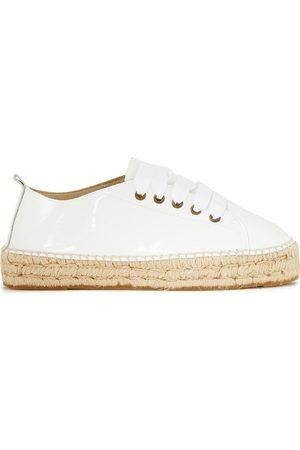 MANEBI Manebí Woman Hamptons Patent-leather Espadrille Sneakers Size 36