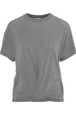 IRO Women Short Sleeve - Woman Colby Twist-front Slub Jersey T-shirt Size XS