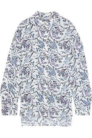 IRO Woman Jacto Printed Crepe Shirt Size 38
