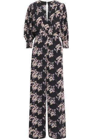 IRO Woman Mexi Floral-print Crepe De Chine Wide-leg Jumpsuit Size 34