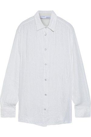IRO Woman Zuko Sequined Chiffon Shirt Size 32